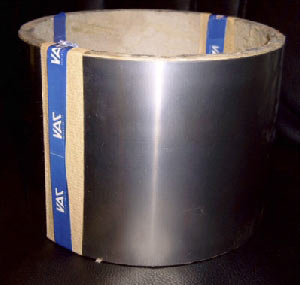 Mumetall-Abschirmfolie 0,1 mm x 170 mm mit Klebeschicht