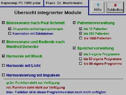 Modul: Verwaltung von 250 Patienten