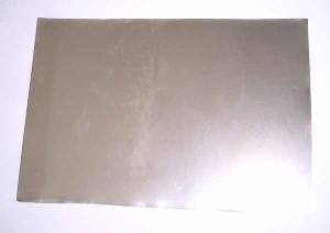 Mumetall-Abschirmfolie 0,1 mm mit Klebeschicht, 10 cm x 17 cm