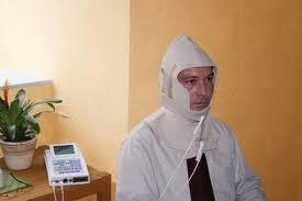 Stoffdetektor: Kopfhaube